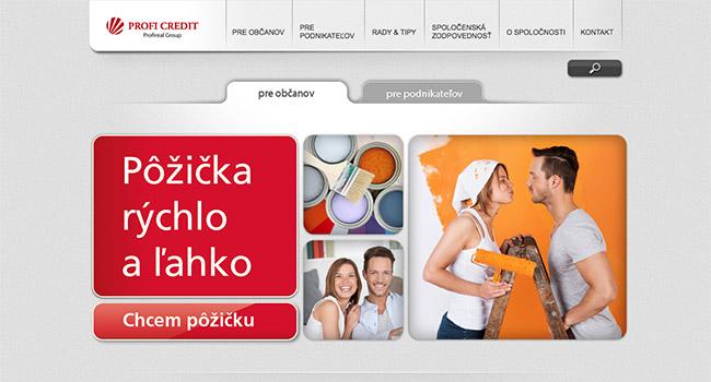 Pôžička Profi Credit