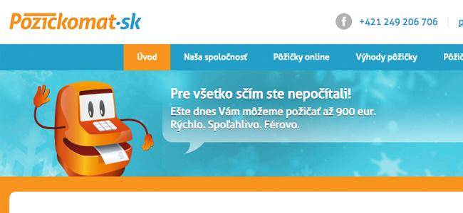 Prvá pôžička zadarmo od nebankovej spoločnosti Pôžičkomat.